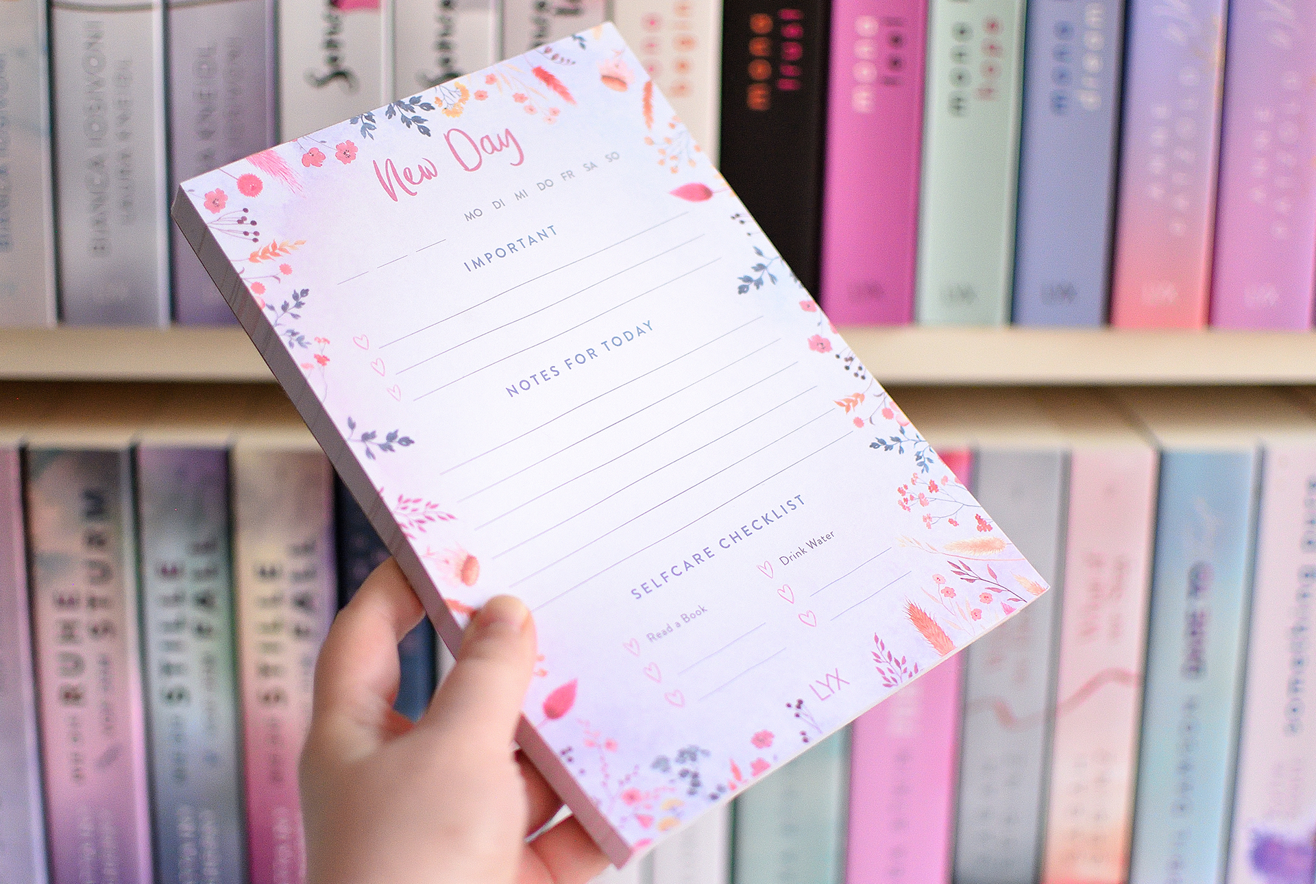 """LYX-Daily-Planner """"New Day"""""""