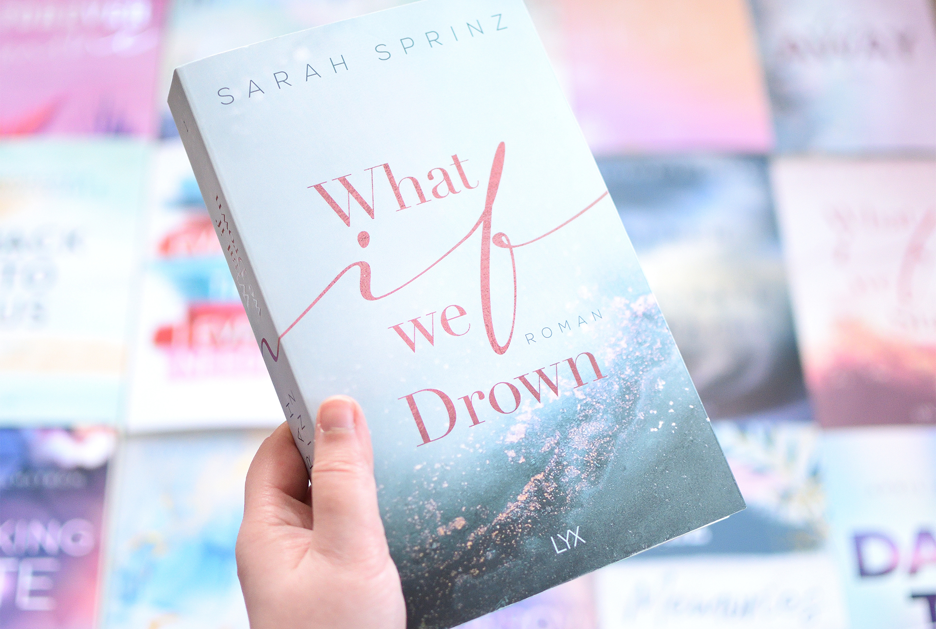 """Signierte Edition Sarah Sprinz - """"WHAT IF WE DROWN"""""""