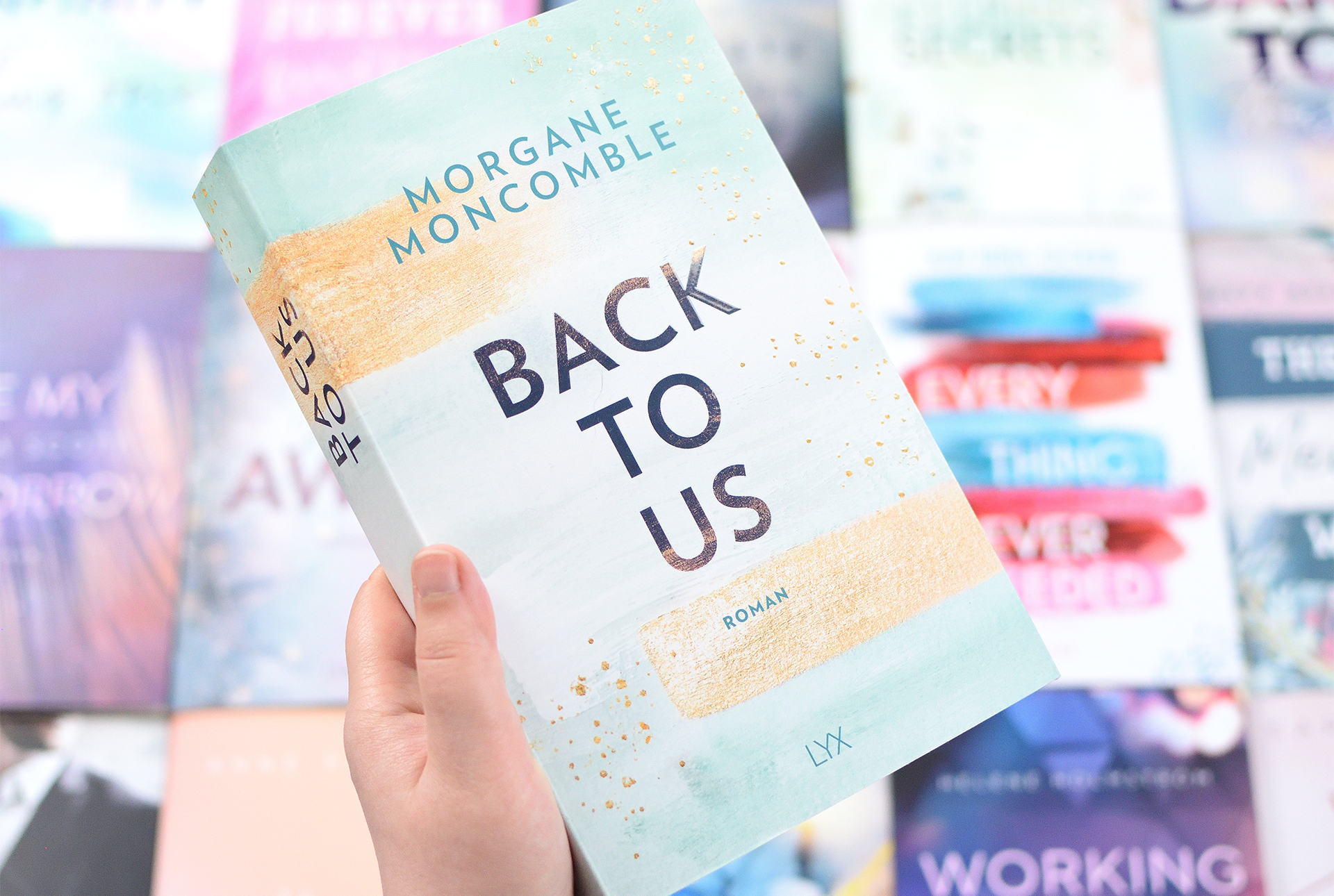 """Signierte Edition Morgane Moncomble- """"BACK TO US"""""""