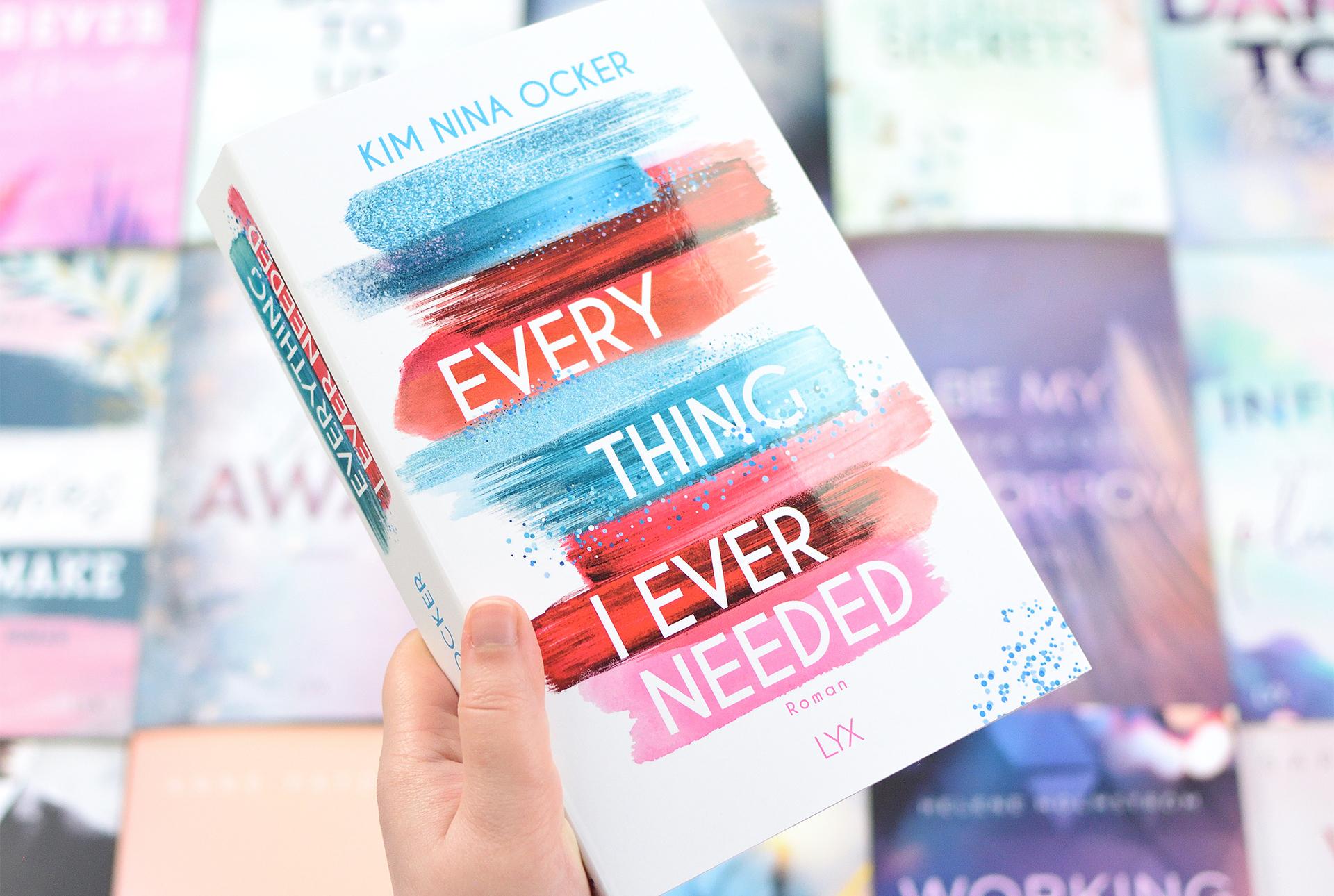 "Signierte Edition Kim Nina Ocker - ""EVERYTHING I EVER NEEDED"""