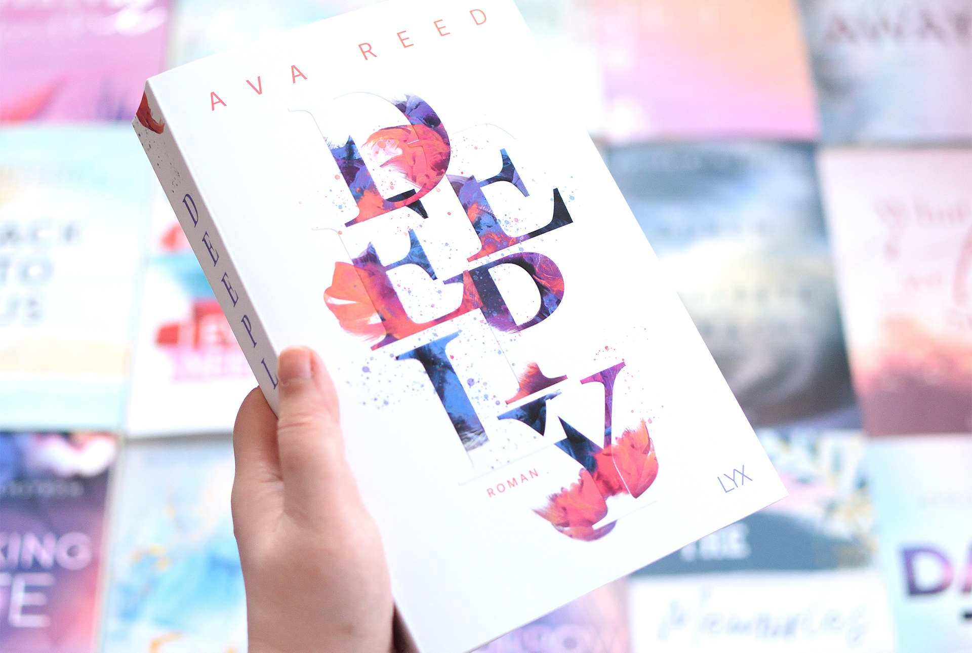"""Signierte Edition Ava Reed - """"DEEPLY"""""""