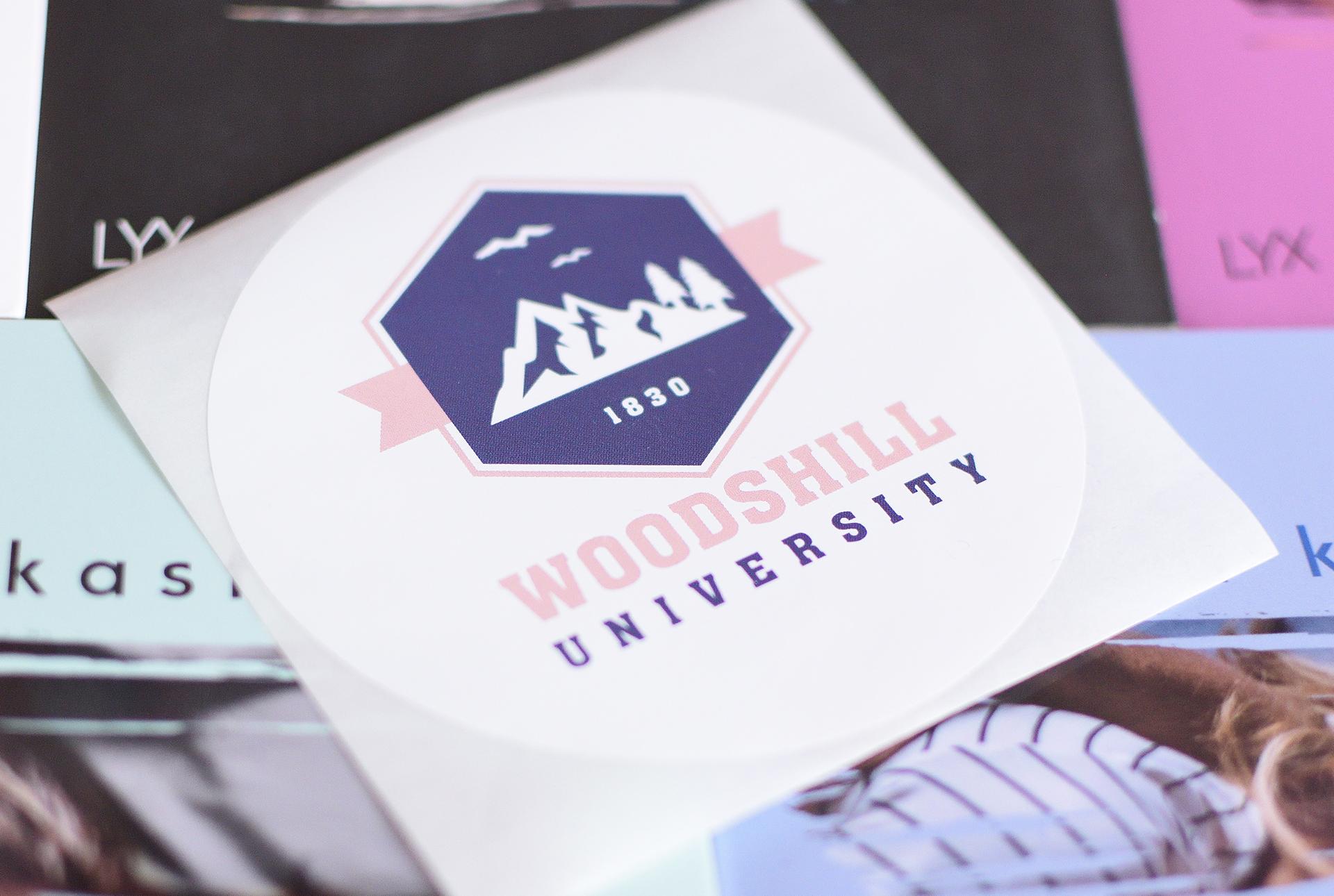 Sticker Woodshill University