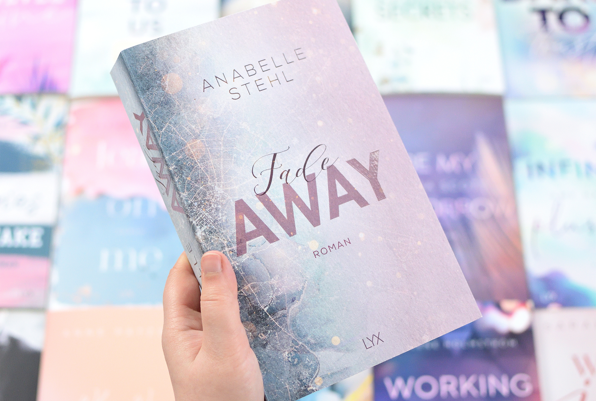 """Signierte Edition Anabelle Stehl - """"FADEAWAY"""""""