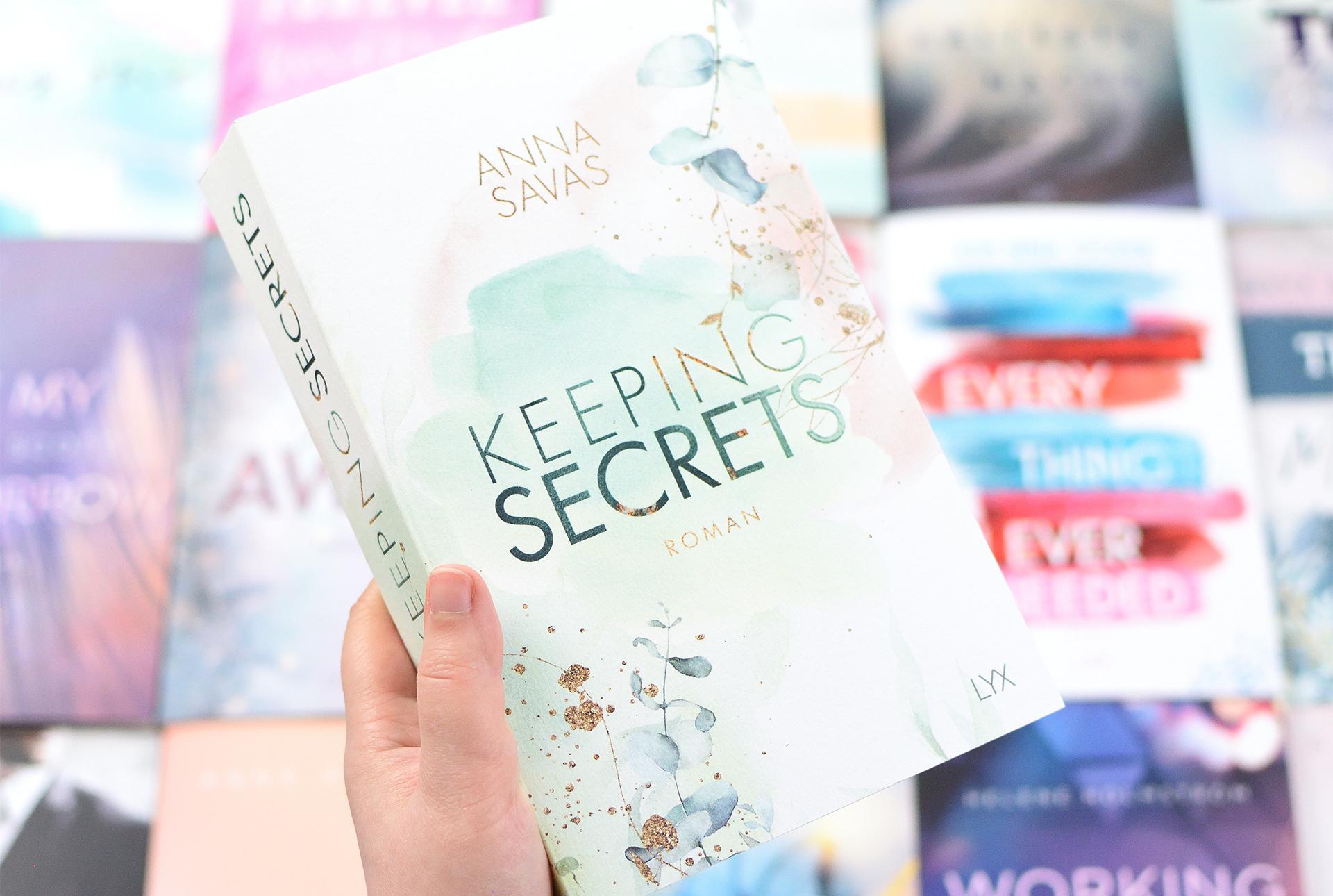 "Signierte Edition Anna Savas - ""KEEPING SECRETS"""